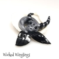 Wiven - Hand Sculpted Mini Polymer Clay Sea Dragon - Wicked Winglings