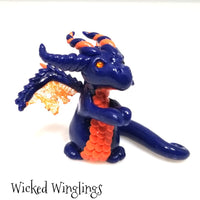 Tanez - Hand Sculpted Polymer Clay Dragon