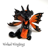 Sirior - Hand Sculpted Polymer Clay Fairy Dragon