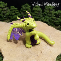 Zormaley - Hand Sculpted Polymer Clay Dragon