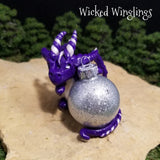 Natalya - Hand Sculpted Polymer Clay Dragon Ornament