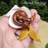 Dragor - Hand Sculpted Mini Polymer Clay Sea Dragon