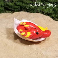 Caram - Hand Sculpted Mini Polymer Clay Sea Dragon