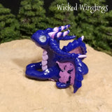 Mithen - Hand Sculpted Mini Polymer Clay Dragon