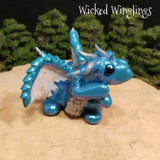 Braak - Hand Sculpted Polymer Clay Dragon