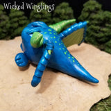 Argond - Hand Sculpted Polymer Clay Droblin - Wicked Winglings