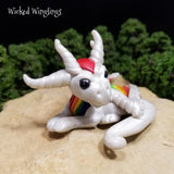 Prizma - Hand Sculpted Polymer Clay Dragon