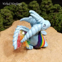 Varikas - Hand Sculpted Polymer Clay Dragon - Wicked Winglings