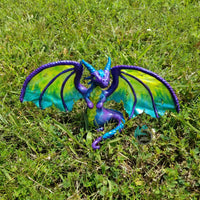 Custom Hand Sculpted Polymer Clay Elder Dragon