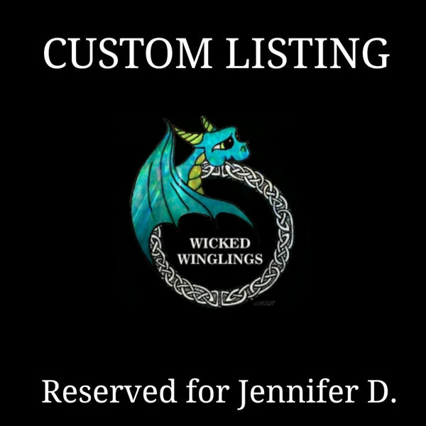 RESERVED FOR JENNIFER D. - Custom Hand Sculpted Dragon with Tabby Cat - Wicked Winglings