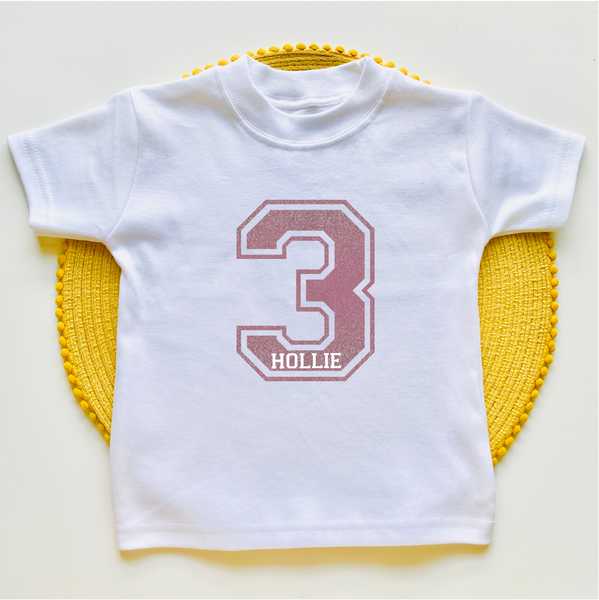 Personalised Birthday Tee
