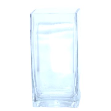Vase en Verre Rectangle Longue 1020