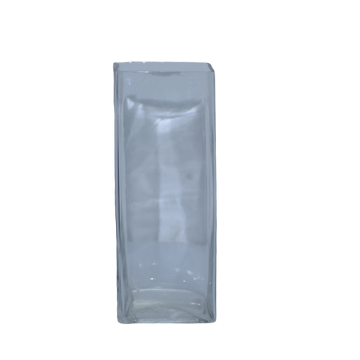 Vase en Verre Rectangle Longue 1025