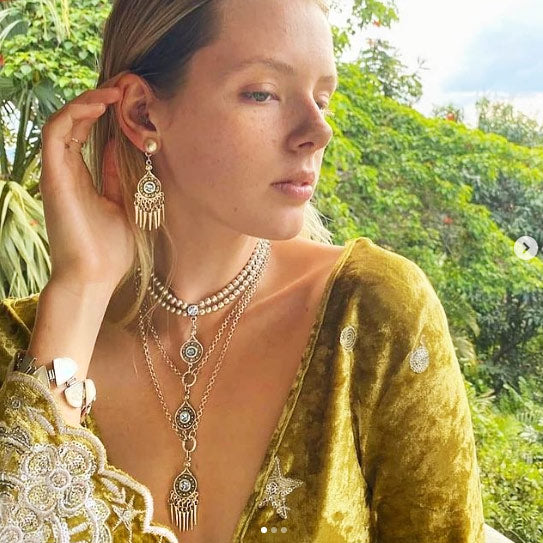 Treaty Jewellery is Bohemian, Statement Silver Plated Jewellery Designed in Cornwall.