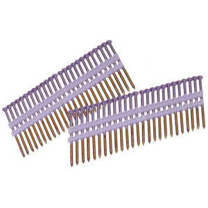 21 Degree Strip Nails Non-Galvanized Smooth Shank