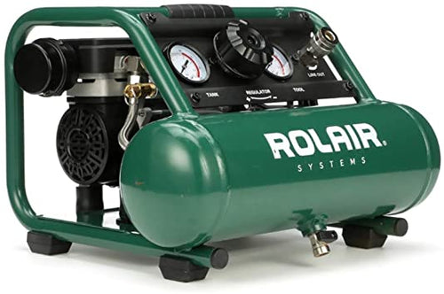 Rol- Air AB5 Oil-Less *SUPER QUIET* Air Compressor