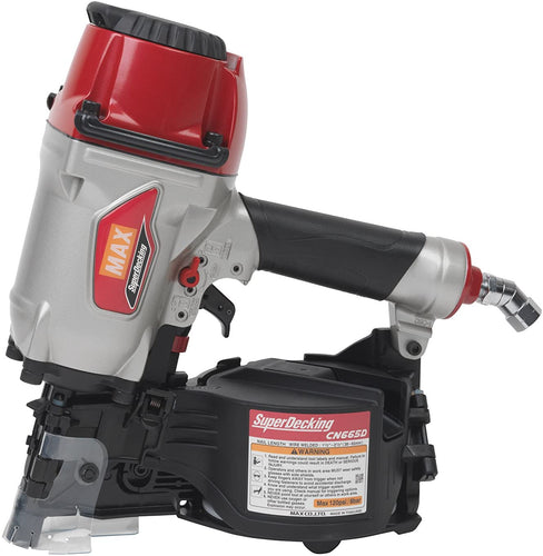 MAX CN665D SuperDecker Coil Decking Nailer, 1-1/2