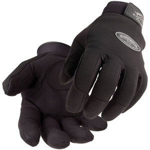 ToolHandz Plus Original Mechanics Glove, Black #99PLUS-BLK