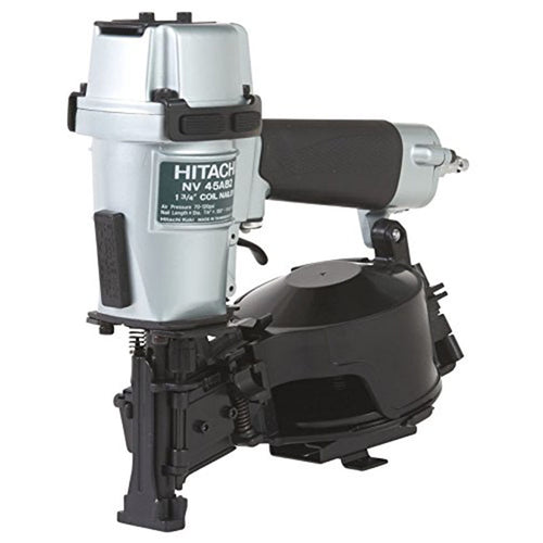 Metabo HPT NV45AB2 (Formerly Hitachi) Coil Roofing Nailer, 7/8