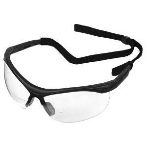 Clear 2.5 Bifocal Lens With Black Frames #16873