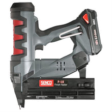 "Load image into Gallery viewer, Senco Fusion F-18 Cordless 18 Gauge 5/8"" to 2-1/8"" Brad Nailer Item #6E0001N"