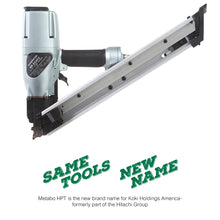 "Load image into Gallery viewer, Metabo HPT (Formerly Hitachi) NR65AK2 Strap-Tite Metal Hardware Nailer, 1-1/2"" to 2-1/2"" #NR65AK2"