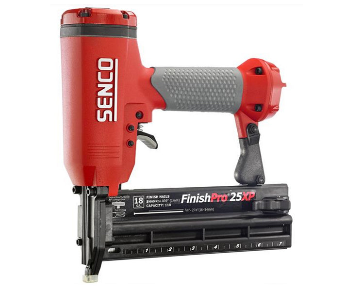 Senco FinishPro FP25XP, 18 Gauge Brad Nailer w/Case, 5/8