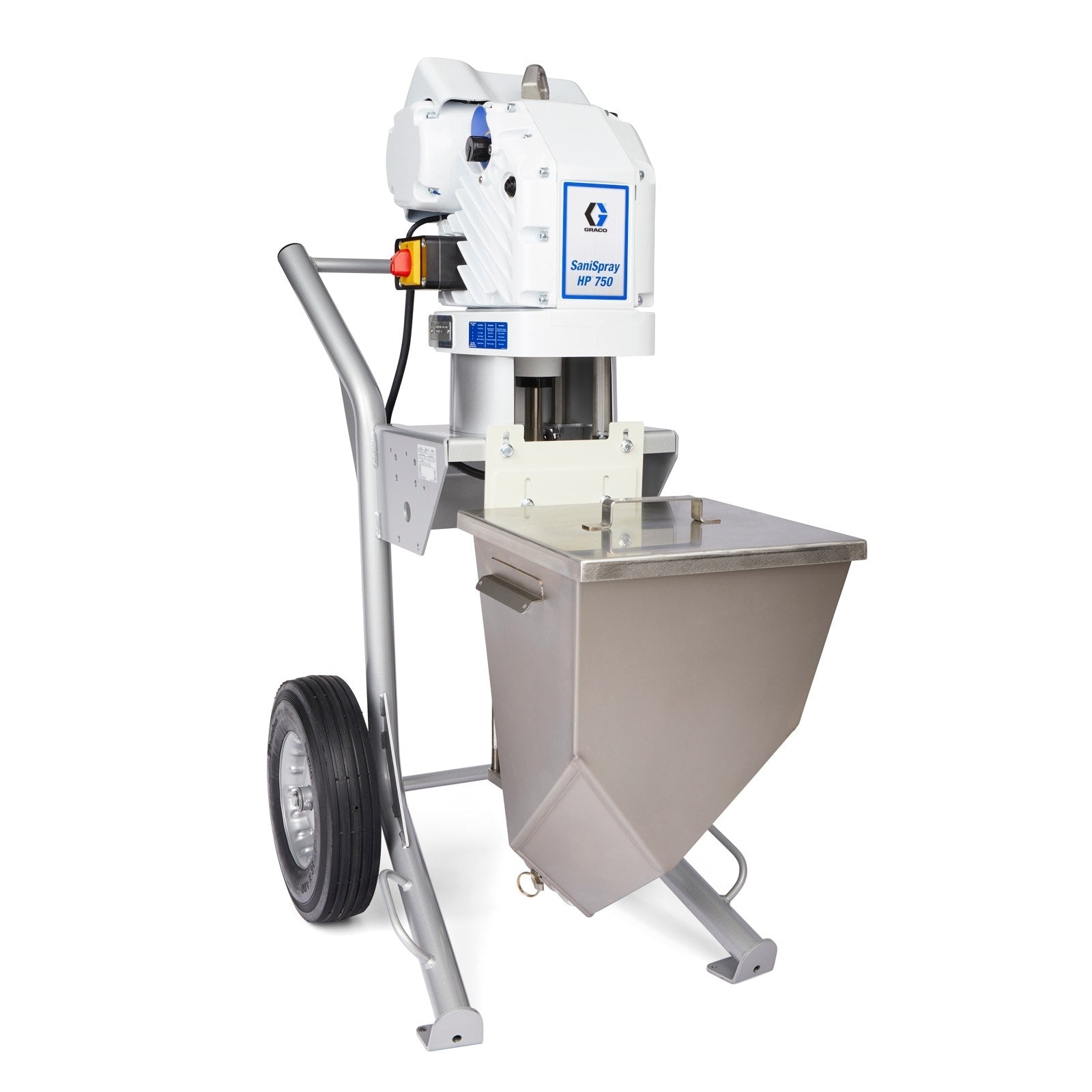 SaniSpray HP 750 - 4/8 Gun Cart Airless Sprayer