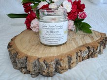 Load image into Gallery viewer, In Bloom 6 oz Coco-Beeswax, Wooden Wick, Aromatherapy Candle