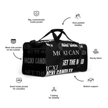 Load image into Gallery viewer, MCXI Candles Duffle bag
