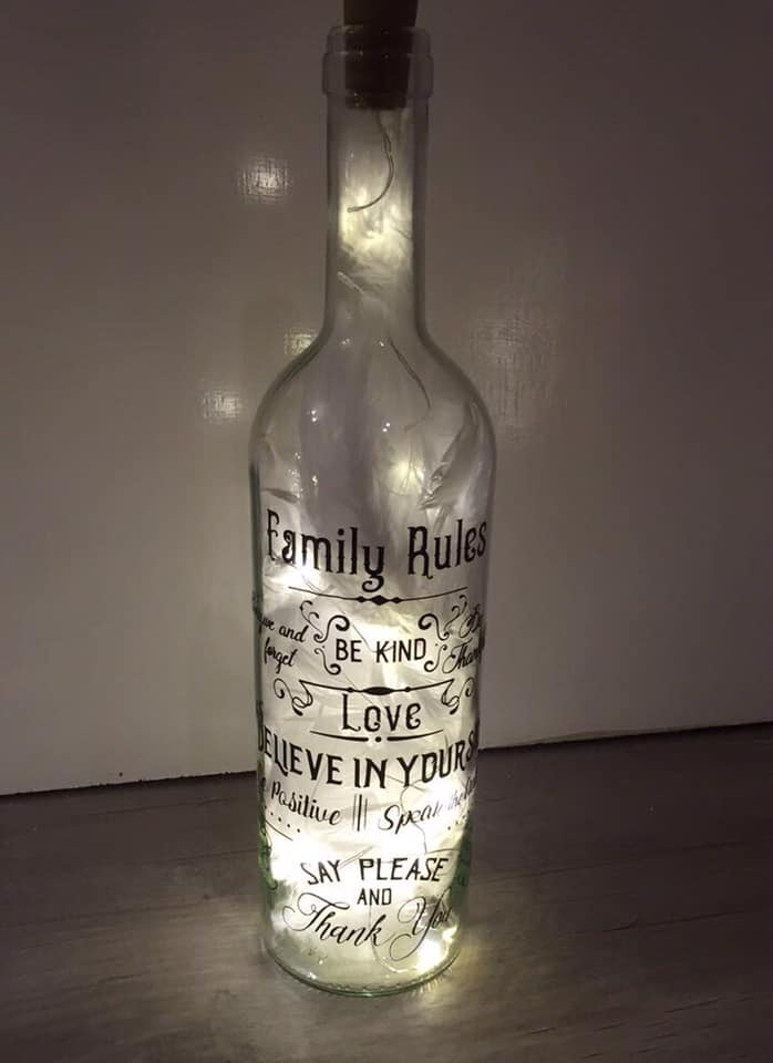 LIGHT UP BOTTLES TEXT ONLY