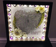 Load image into Gallery viewer, PERSONALISED FLOWER FRAME