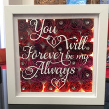 Load image into Gallery viewer, PERSONALISED VALENTINE FRAME