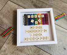Load image into Gallery viewer, PERSONALISED TEACHER GIFT SCRABBLE FRAME