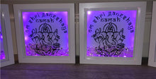 Load image into Gallery viewer, VINYL PERSONALISED MESSAGE LORD GANESHJI FRAME