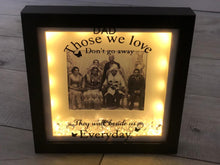 Load image into Gallery viewer, MEMORIAL FRAMES WITH VINYL PERSONALISED MESSAGE