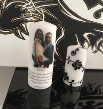 Load image into Gallery viewer, PERSONALISED CANDLE - FATHER'S DAY PRINTED PHOTO CANDLE