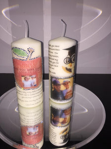 PERSONALISED TEACHER THANK YOU CANDLES