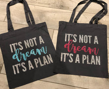 Load image into Gallery viewer, PERSONALISED QUOTE TOTE BAG