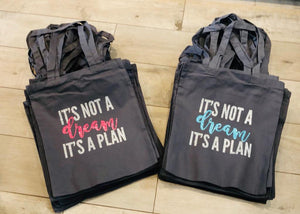 PERSONALISED QUOTE TOTE BAG