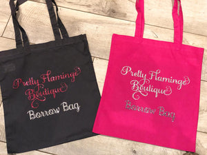 PERSONALISED BUSINESS TOTE BAG
