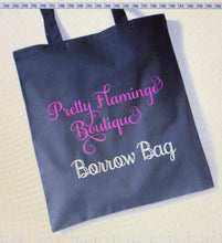 Load image into Gallery viewer, PERSONALISED BUSINESS TOTE BAG