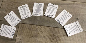 MILESTONE WEDDING TAGS