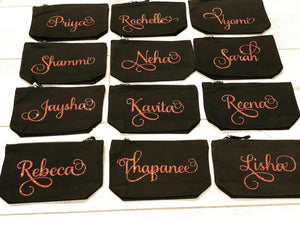 Medium- PERSONALISED WITH NAME - W540 Make up Case/Pencil Case