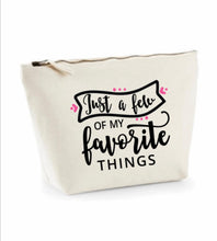 Load image into Gallery viewer, Large - W540A Make up Case/Pencil Case With Quote or affirmation