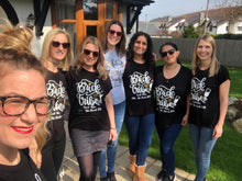 Load image into Gallery viewer, PERSONALISED BRIDE HEN PARTY UNI-SEX T-SHIRTS
