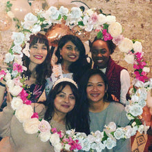 Load image into Gallery viewer, A SELFIE HOOP IS THE ULTIMATE PARTY ACCESSORY TO ADD A LITTLE GLAMOUR TO YOUR  OCCASION