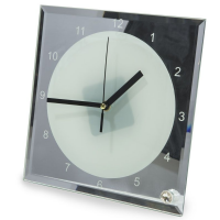 PERSONALISED GLASS CLOCK
