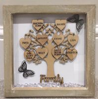 LARGE FRIENDS FAMILY TREE FRAME