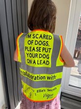 Load image into Gallery viewer, I AM SCARED OF DOGS HI VIS VESTS